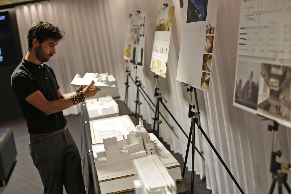 El colegio de arquitectos expone los 14 mejores proyectos de fin de carrera noticias de - Arquitectos en pamplona ...