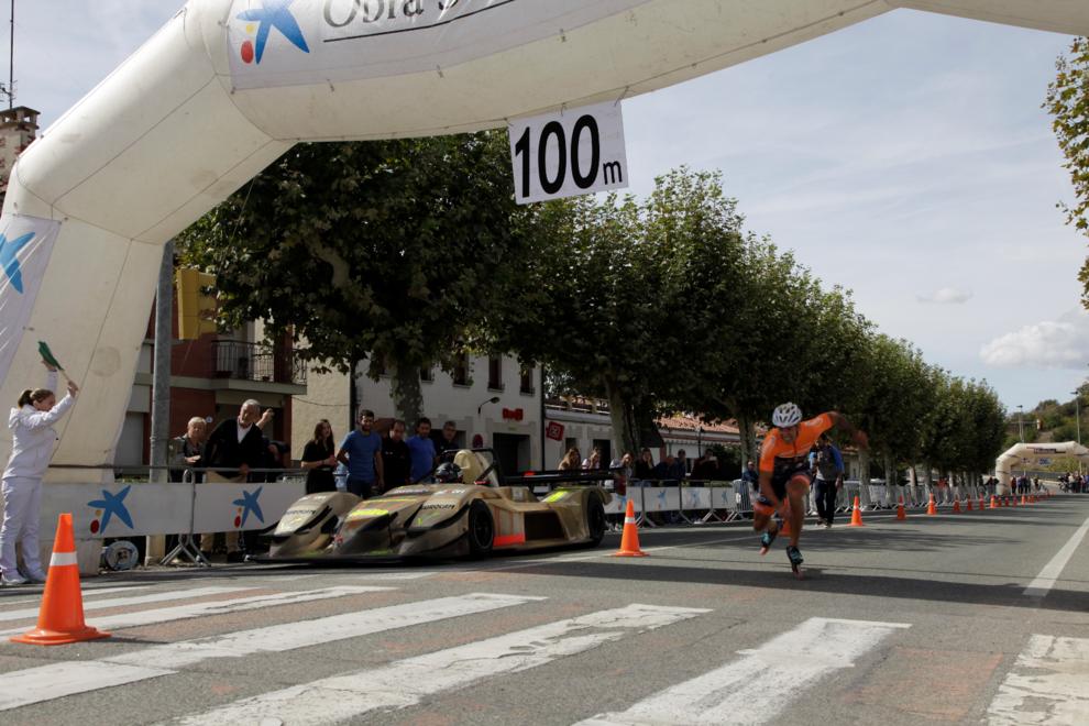 IX edición de la Pamplona-Puente Skate Marathon (1/4) - Ewen Fernandez y Rocío Berbel establecen nuevos récords. - Más deporte -