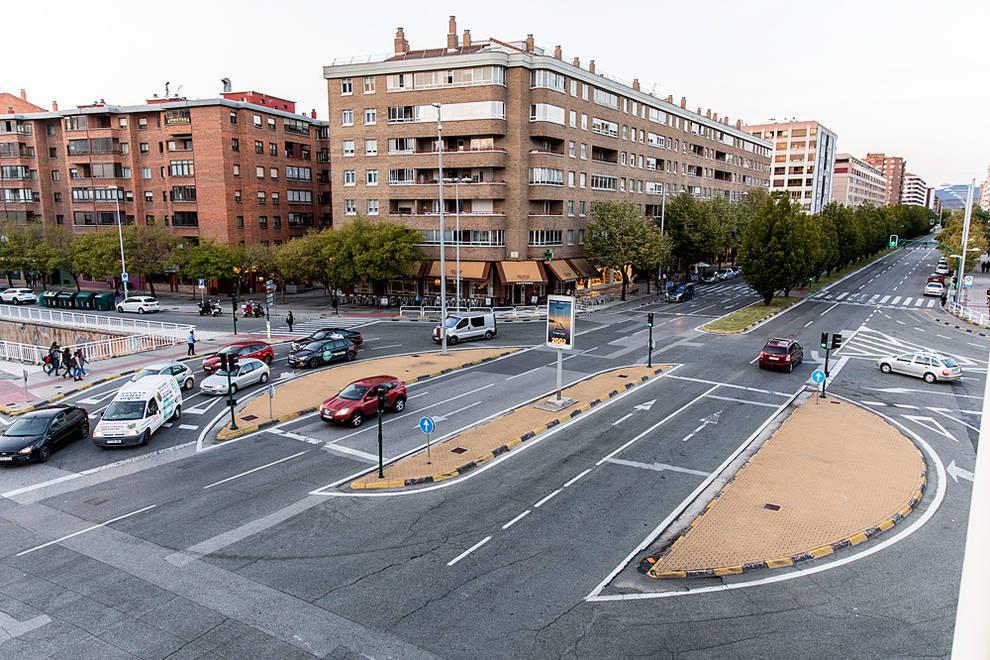 Una rotonda convencional para la Avenida Navarra | Noticias de ...