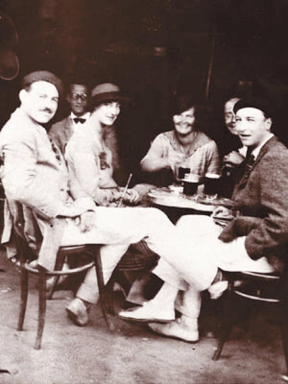 Ernest Hemingway, en Pamplona