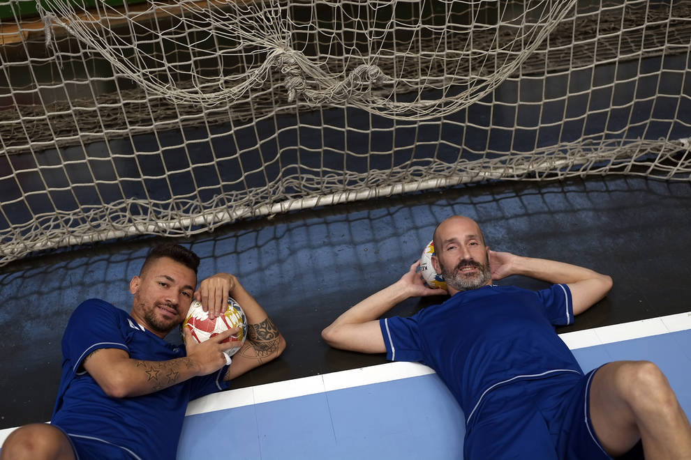 Los jugadores de Osasuna Magna, Alexandre Araça y Javi Eseverri, son los goleadores del equipo con seis tantos cada uno en las seis jornadas disputadas.