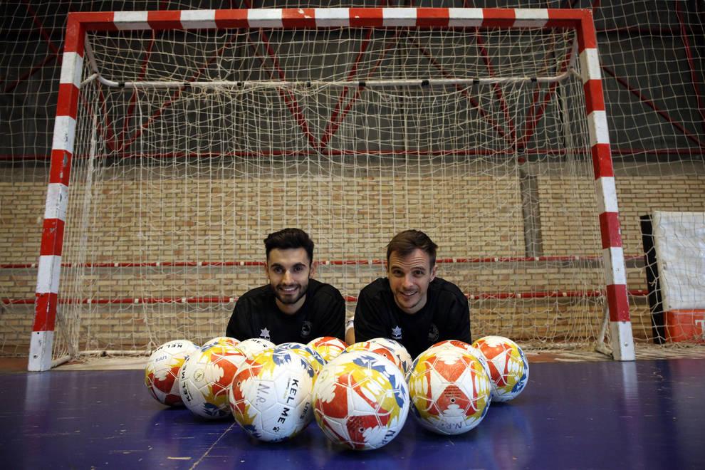 Los jugadores del Aspil-Vidal, Rubén Lemos Rubi y David García, con 3 y 5 goles, respectivamente, acumulan 8 de las 16 dianas que suma su equipo.