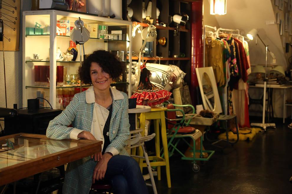 Muebles con alma y sabor vintage en pamplona en la cabina for Esquelas el mueble melide