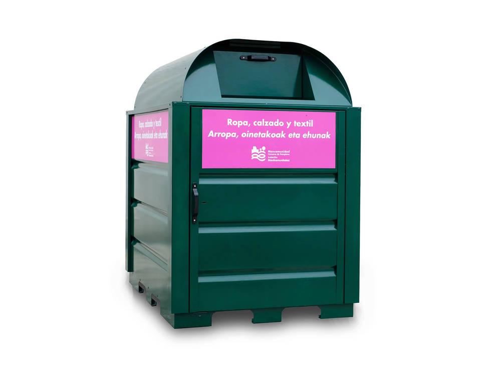 ca0515ac4 Dónde se colocarán los nuevos contenedores de ropa de Pamplona ...