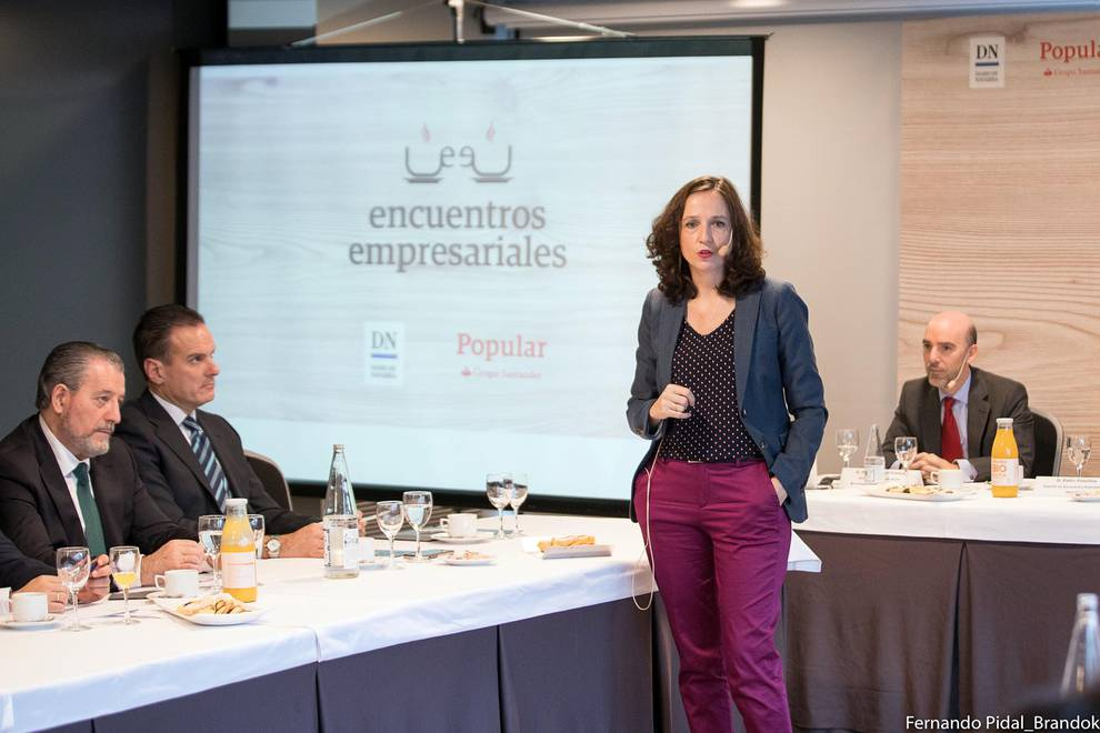 Encuentro empresarial Popular-DN 3 (1/16) - Varias decenas de directivos y empresarios asistieron a la jornada organizada por Popular y Diario de Navarra. - DN Management -