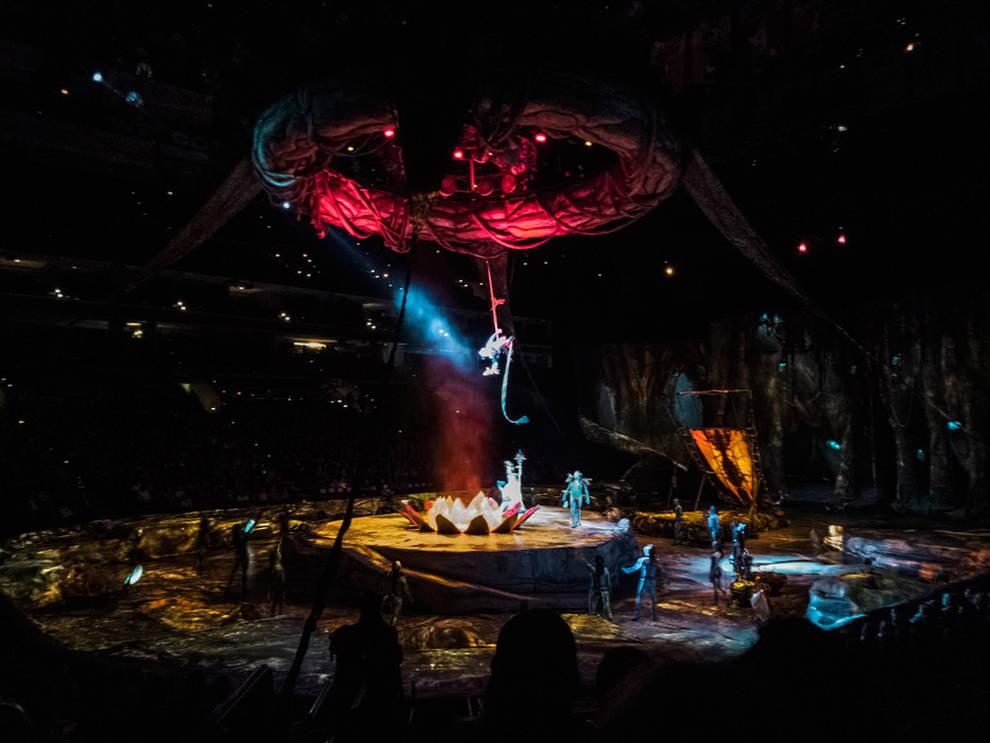 Las entradas para el espect culo del circo del sol en for Entradas para espectaculos