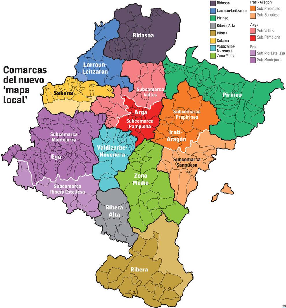 El Cuatripartito Respalda El Proyecto De Reforma Del Mapa Local De