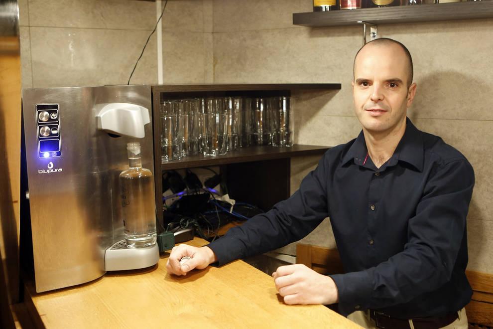 Restaurante Anttonenea sirve agua filtrada.