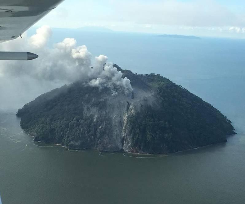 Isla Kadovar, en Papúa Nueva Guinea