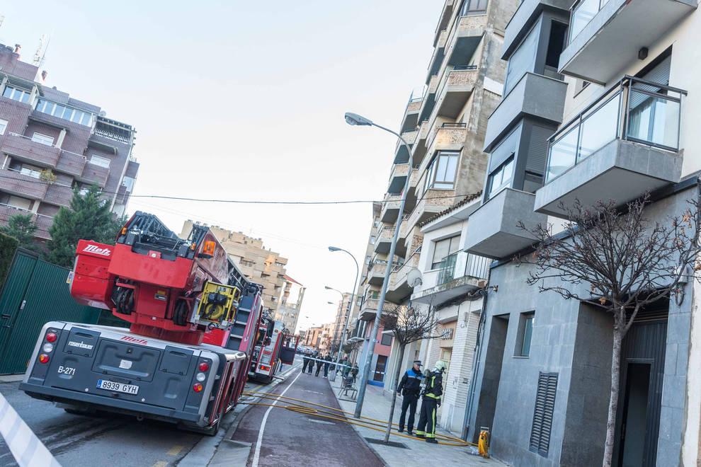 Un incendio calcina parte de una vivienda en tudela - Vivir en un segundo piso ...