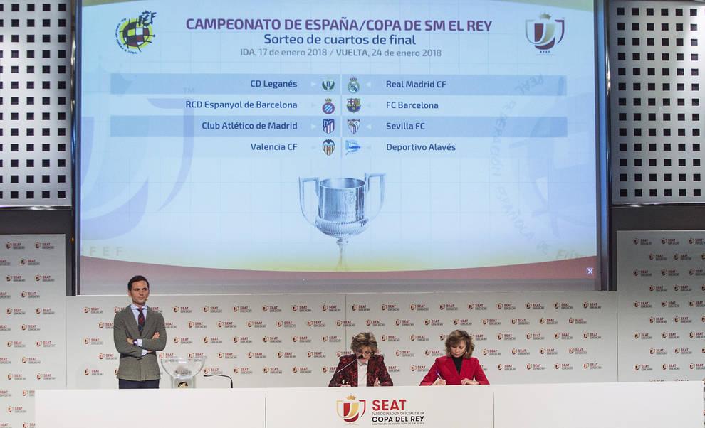 Derbis madrileño y catalán en cuartos de final de la Copa del Rey ...