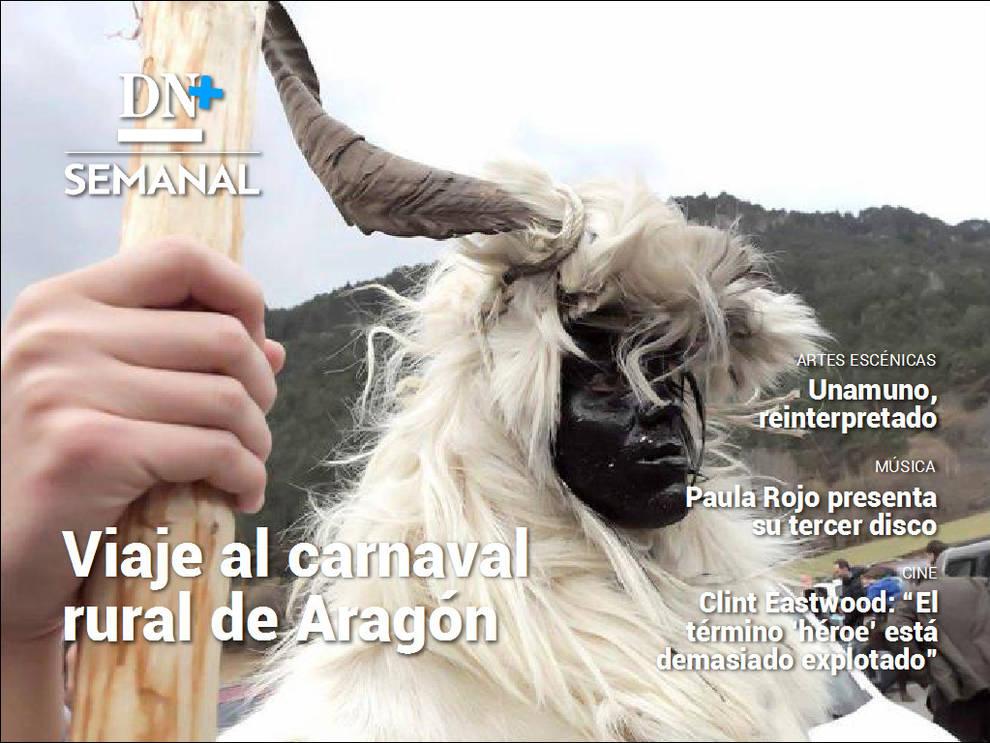 El carnaval rural de Aragón, en DN+ Semanal (1/3) - Además, Clint Eastwood vuelve a las carteleras con '1517. Tren a París' - Destacados -