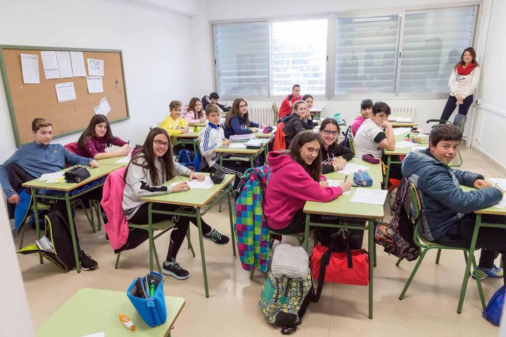 Diario Escolar. El IESO Bardenas Reales (Cortes), a las puertas de ...