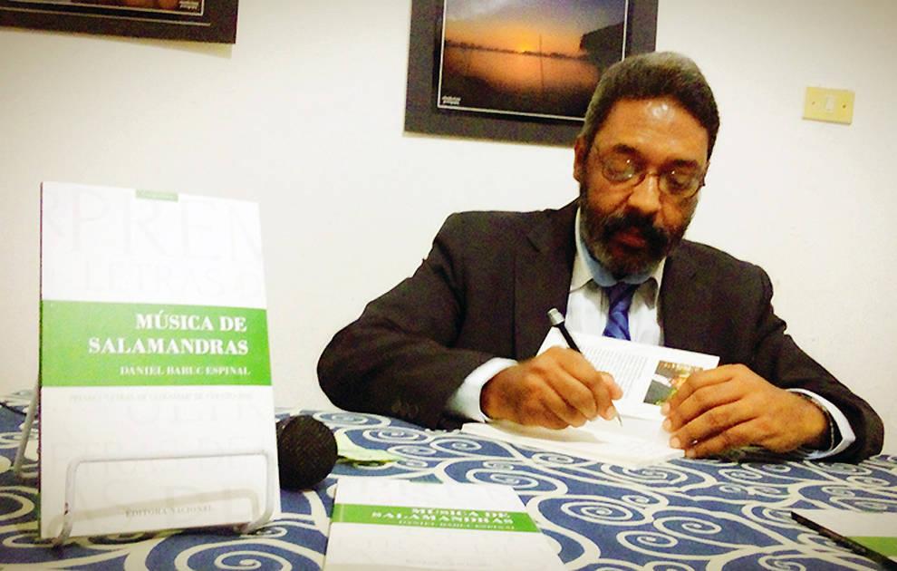 El escritor Daniel Baruc, candidato al premio Príncipe de Viana de la Cultura.