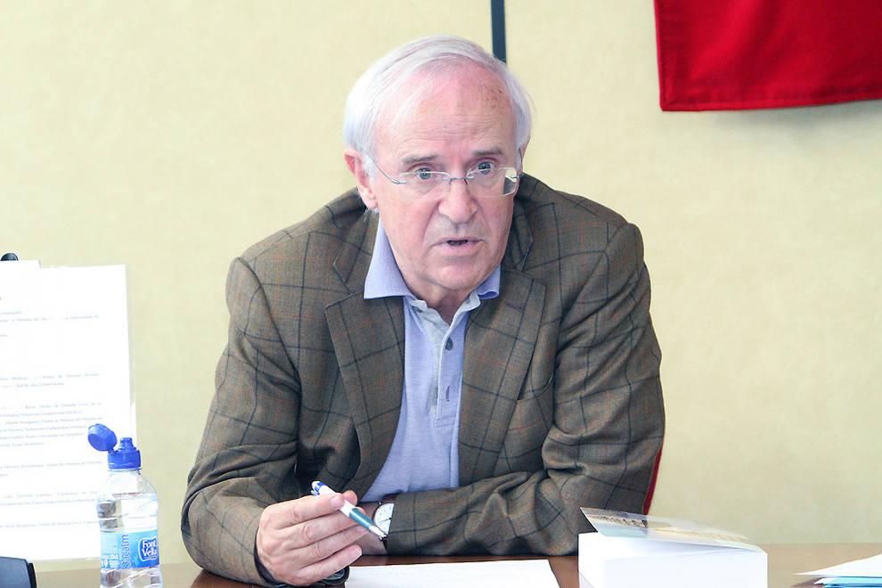 Gregorio Monreal, candidato al Premio Príncipe de Viana de la Cultura.