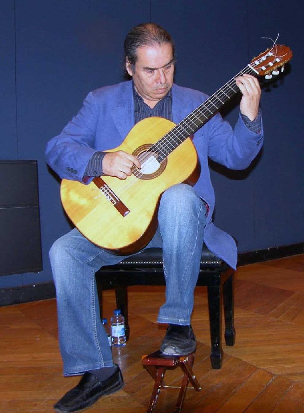 Ramón Macías, candidato al Premio Príncipe de Viana de la Cultura.