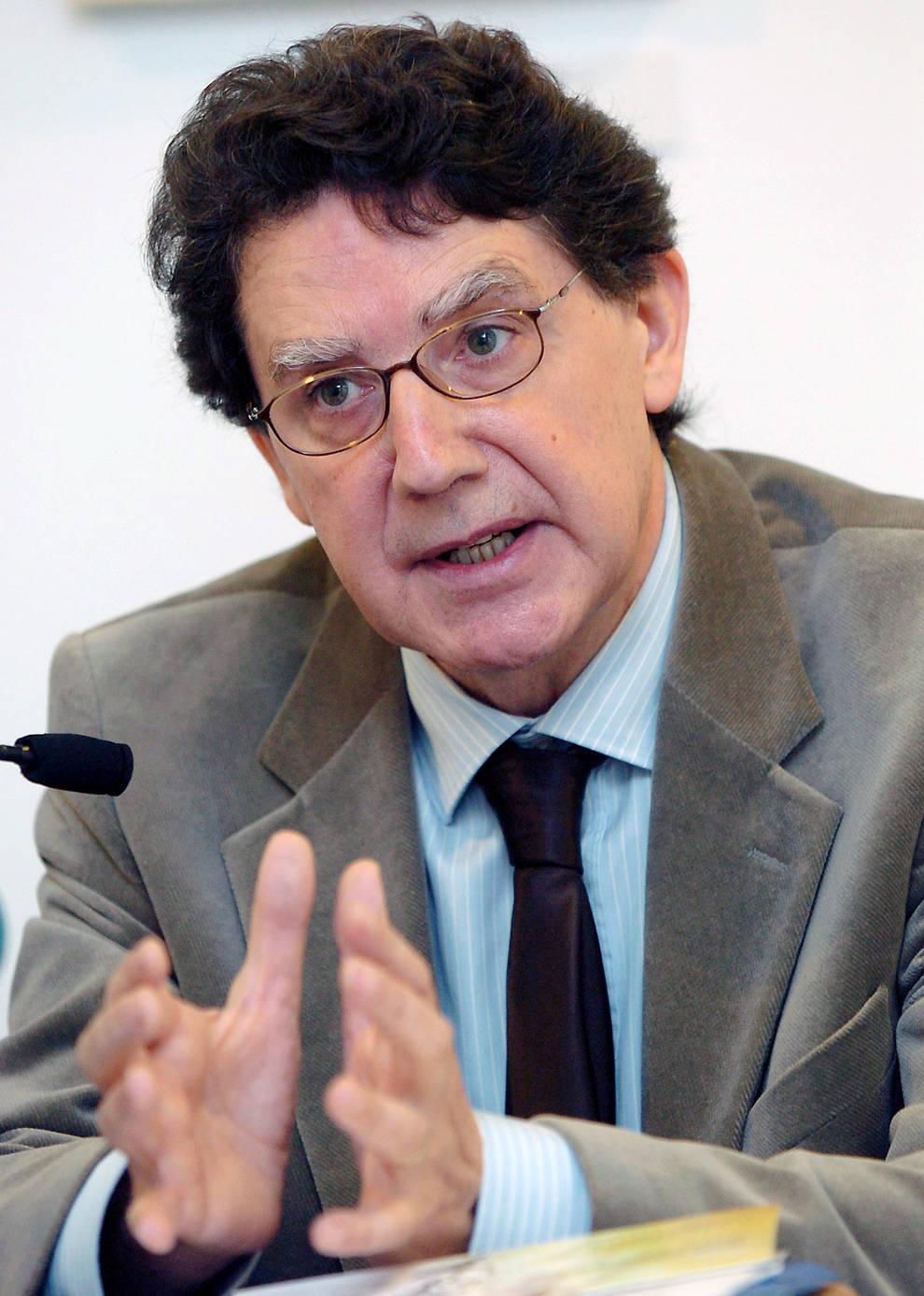 Tomás Yerro, candidato al Premio Príncipe de Viana de la Cultura.