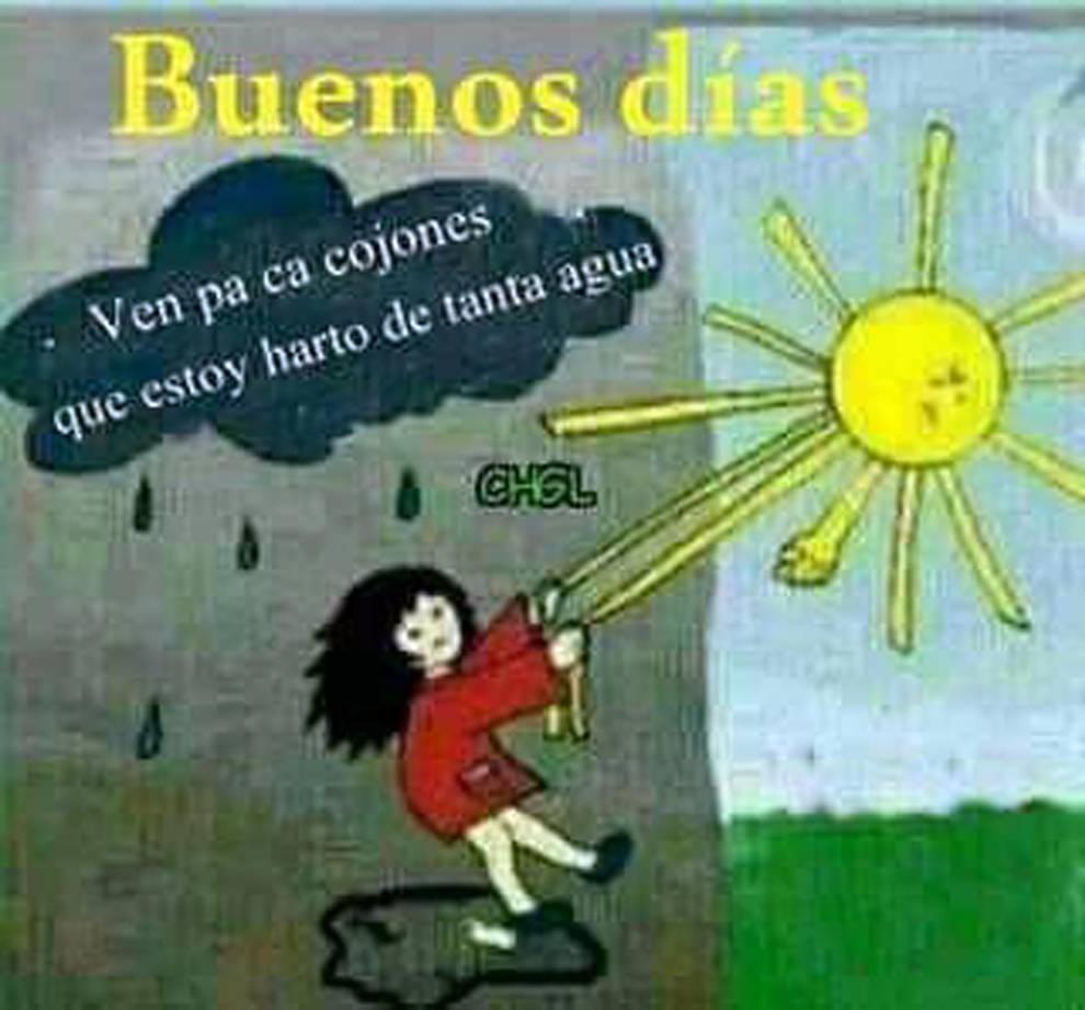 Al Mal Tiempo Buena Cara Y Memes Graciosos Noticias De Navarra En