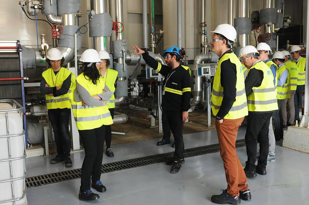 El año que la planta de Kemira en Villatuerta creció con diez millones