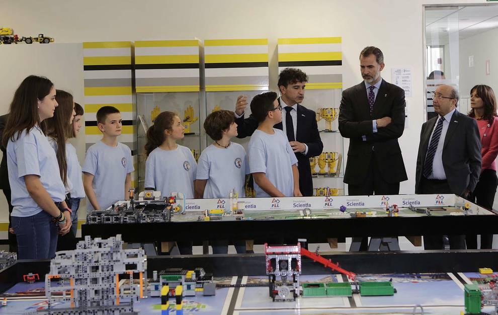 El Rey inaugura el Congreso Internacional de Arquitectura en Pamplona. GOÑI (1/69) - Don Felipe ha llegado a Pamplona a las 11.30 horas acompañado por el ministro de Fomento, José Luis Ábalos - Navarra -