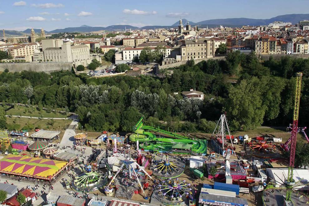 Los técnicos municipales apuestan por la Runa para las barracas en San  Fermín   Noticias de Pamplona y Comarca en Diario de Navarra