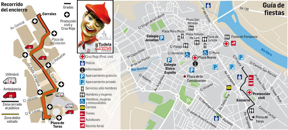 La fiesta más femenina estalla este martes en Tudela