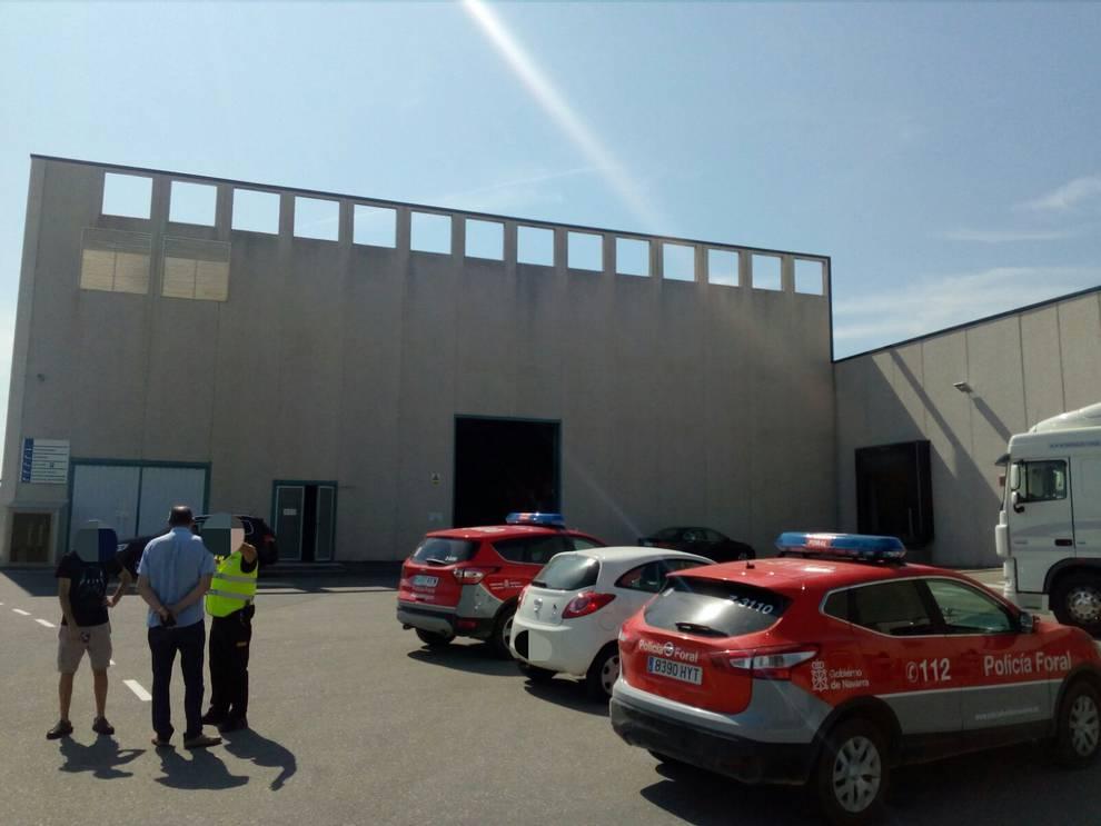 Fallece un hombre en un accidente laboral en una empresa papelera de Viana