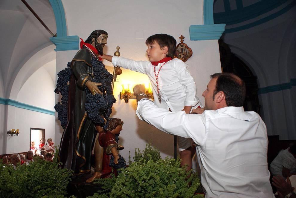 Procesión de San Roque en las fiestas de Monteagudo (16 de agosto de 2018) (1/9) - Procesión de San Roque en las fiestas de Monteagudo - Tudela y Ribera -