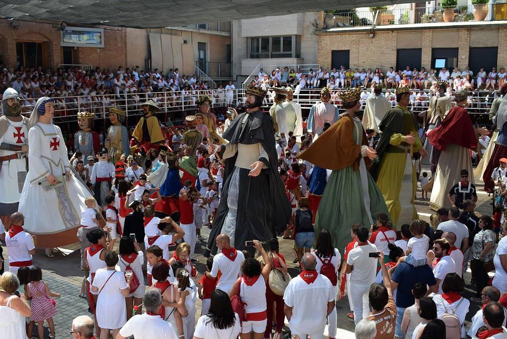 Día grande de las fiestas de Murchante en honor a San Roque (16 de agosto de 2018) (1/10) - Día grande de las fiestas de Murchante en honor a San Roque - Tudela y Ribera -
