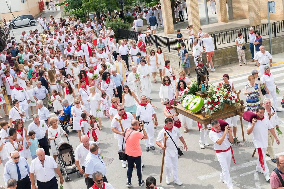 Fotos Del Día Grande De Las Fiestas De Cabanillas Con Procesión En