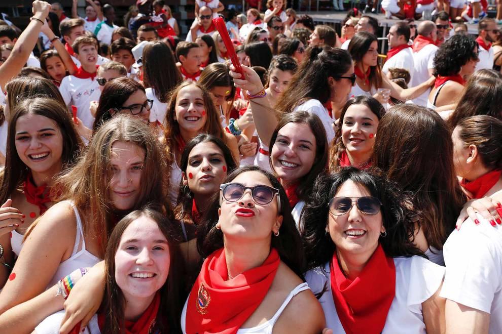 Cohete de las fiestas de Ribaforada 2018 (1/15) - Fotos del cohete de las fiestas de Ribaforada 2018 - Tudela y Ribera -