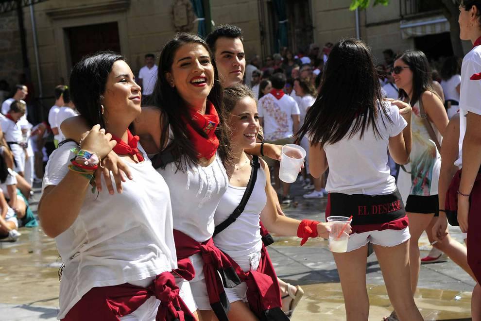 Cohete de fiestas de Pitillas (1/22) - Fotos del inicio de las fiestas de Pitillas. - Tafalla y Zona Media -