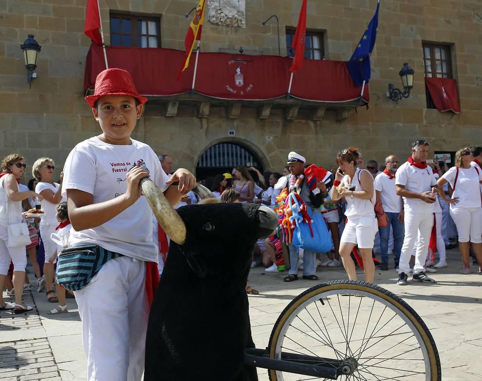 Cohete de las fiestas de Murillo el Fruto 2018 (1/13) - Fotos del cohete de las fiestas de Murillo el Fruto 2018 - Navarra -