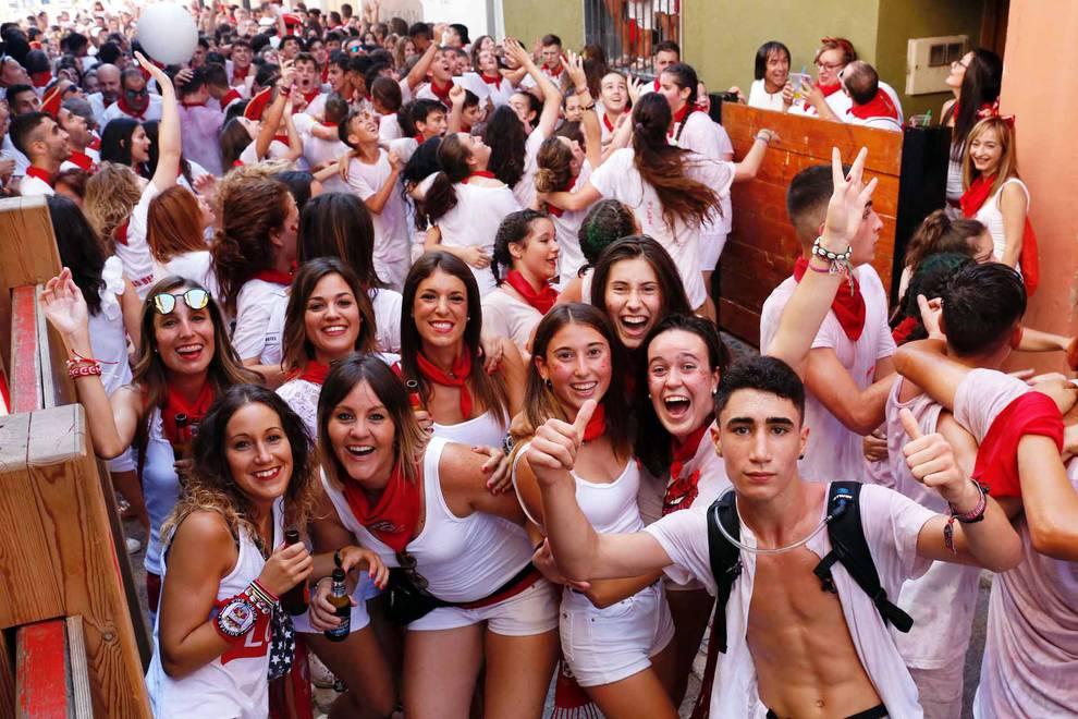 Fotos del cohete de Ablitas | 1 de septiembre de 2018 (1/12) - La localidad ribera arrancó este sábado, 1 de septiembre, sus fiestas patronales - Tudela y Ribera -