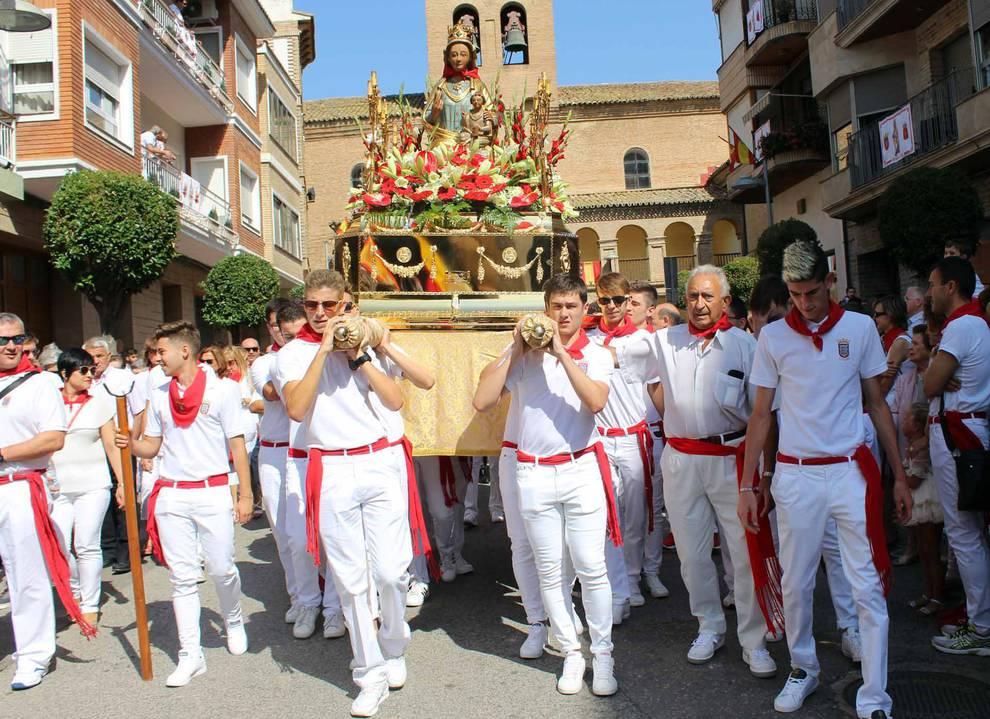 Fotos de fiestas de Azagra   8 de septiembre de 2018 (1/7) - Los azagreses vivieron este sábado, 8 de septiembre su segundo día de fiestas, en honor a la Virgen del Olmo - Tierra Estella -