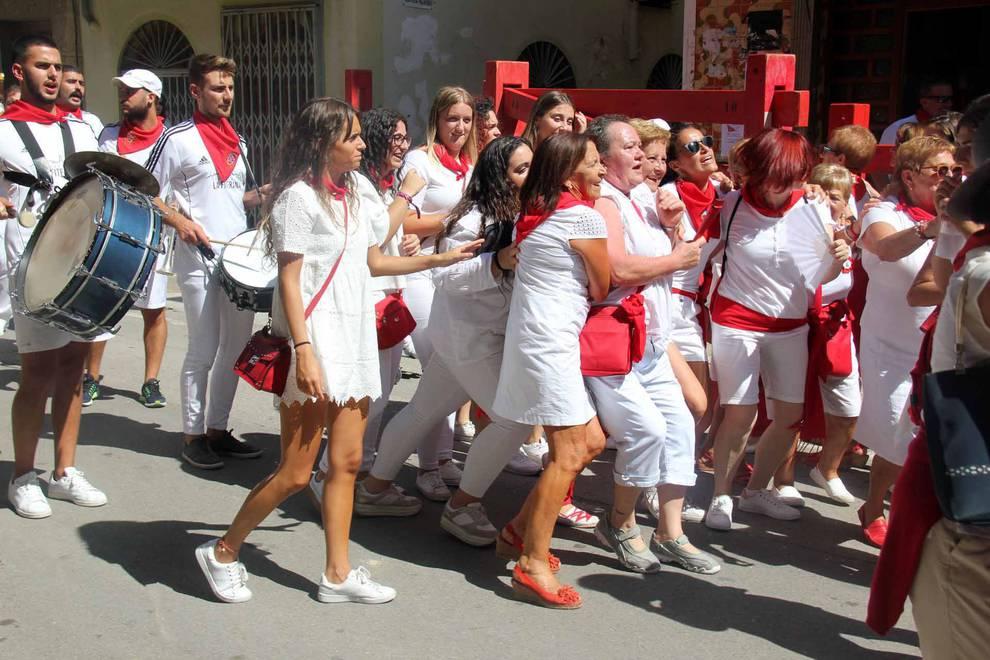 Día de la Mujer en las fiestas de Fitero (10 de septiembre) (1/5) - Las mujeres celebraron su día en las fiestas patronales con diversos actos como una comida popular y un pasacalles con charanga - Tudela y Ribera -