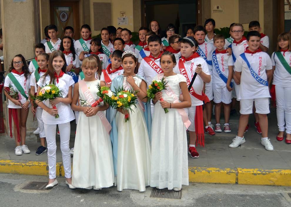 Fotos de fiestas de Azagra (Día del niño) | 12 de septiembre de 2018 (1/7) - Azagra dedicó este miércoles, 12 de septiembre, a los niños - Tierra Estella -