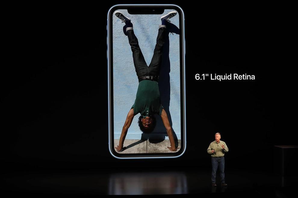 Apple presenta los nuevos iPhone y iWatch (1/11) - Los iPhone XS y XS Max tendrán una pantalla con protección especial ante líquidos - Contenidos -