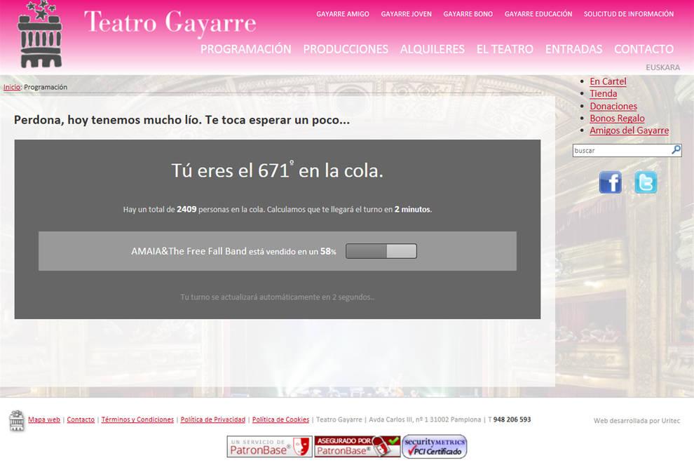 Entradas agotadas en 20 minutos para el concierto de Amaia Romero en el Gayarre