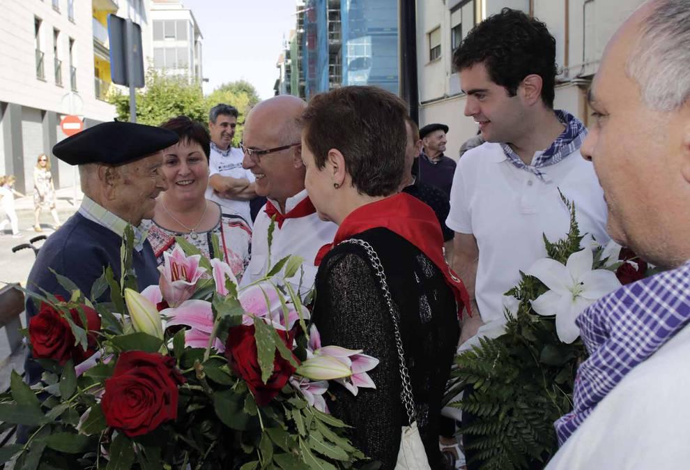 Último día de las fiestas e Alsasua, dedicada a los mayores (17 de septiembre) (1/6) - Alsasua despide sus fiestas con el homenaje a los mayores de la localidad - Zona norte -