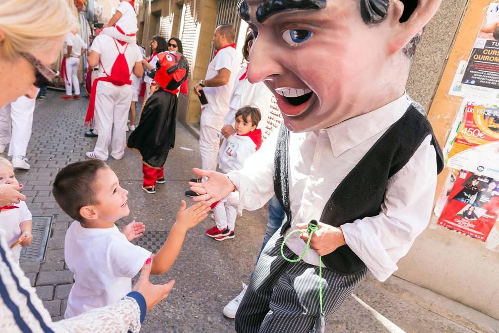 Fotos del segundo día de fiestas de Corella 2018, 24 de septiembre (1/29) - Fotos de la procesión de la Merced y la proclamación del 'corellano popular' de las fiestas de Corella 2018, 24 de septiembre. - Tudela y Ribera -