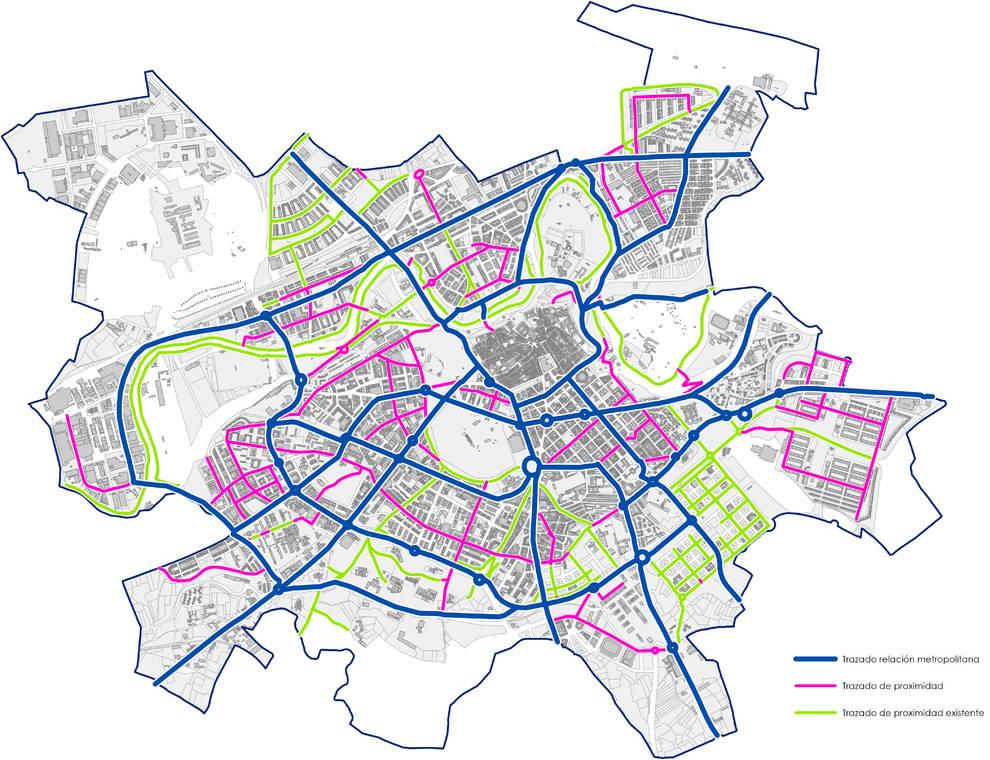 El Ayuntamiento propone que Pamplona tenga un carril bici de 127,4 km para 2022