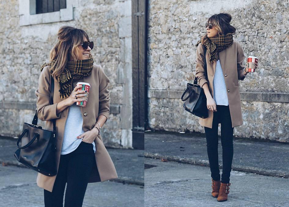El abrigo camel, uno de los básicos de invierno