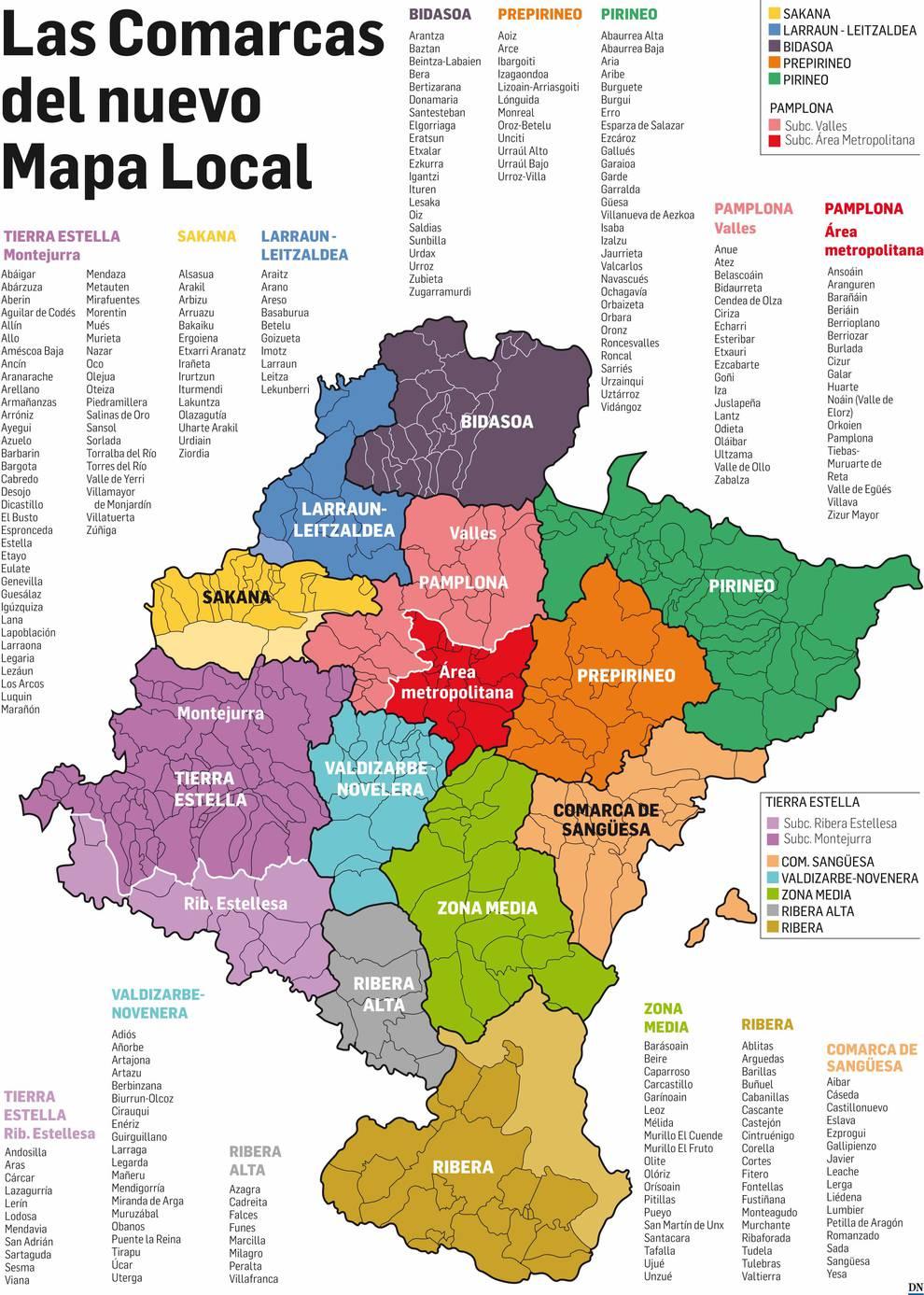 Las Claves De La Discutida Reforma Del Mapa Local Selecciondn