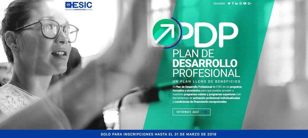 ESIC, nueva edición programas superiores marzo 2019. RRHH, Dirección de Ventas, Big Data Analytics y Digital Business