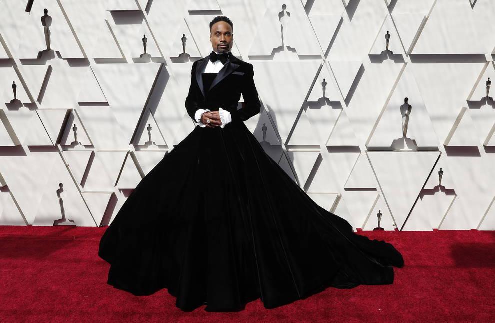 Billy Porter abre la alfombra roja de los Oscar y rompe moldes