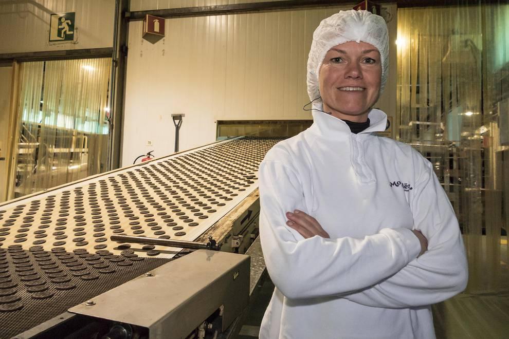Mondelez fabrica 45.000 toneladas al año de galletas Fontaneda y Oreo