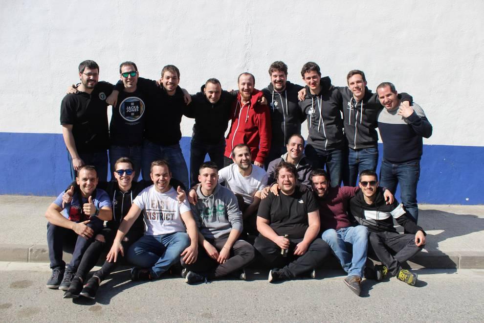 La segunda juventud de la txaranga Mutil Gazteak en su 25+2 aniversario