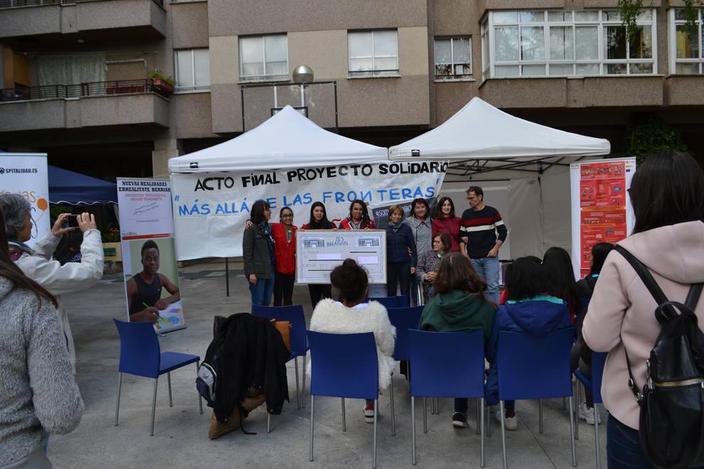 El IES Barañáin clausura su proyecto solidario Más allá de las fronteras