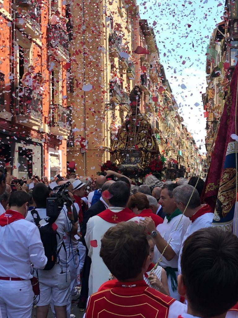 (1/16)-Procesión de San Fermín 2019. CEDIDA-San Fermín-AGENCIAS
